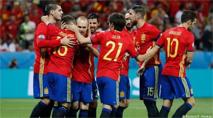 Berita Euro 2016 Spanyol Masih Unggul Atas Kroasia