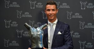 Ronaldo meraih penghargaan The Best Player in Europe