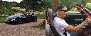 Akhirnya Ronaldo Terlihat Menggunakan Mobil Supersport Barunya