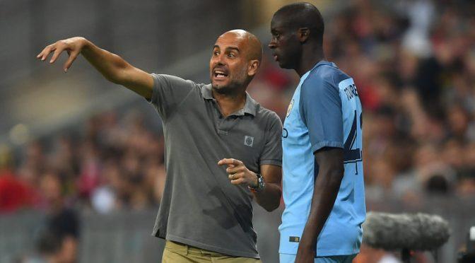 Alasan Guardiola Tidak Masukan Yaya Toure Dalam List Pemain