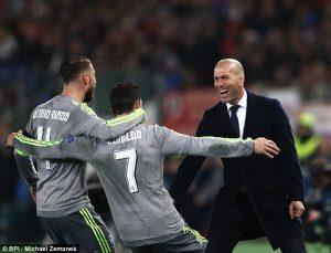 Zidane Ungkap Cara Ronaldo Bisa Menciptakan Hattrick