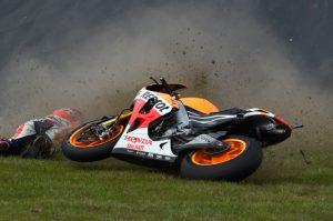 MotoGP Australia : Marquez Salahkan Diri Sendiri Saat Terjatuh
