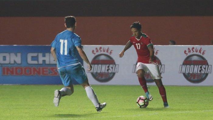 Laga Pertandingan Antara Indonesia Dengan Puerto Riko Berakhir Imbang